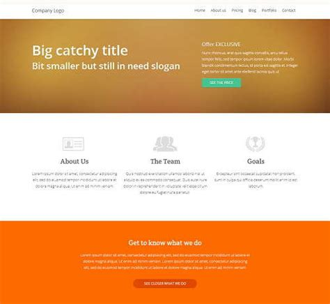 html5 css3 jquery website templates free 11 free business website templates ginva