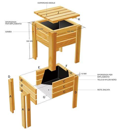 orto sul terrazzo fai da te contenitori per orto sul balcone fai da te modulari