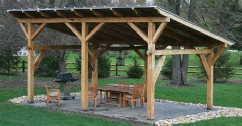 simple  beautiful shed roof pavilion httpswww