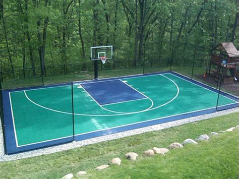 backyard sport court sport courts texags