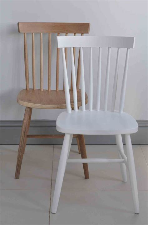 Oxford Spindle Back Dining Chair White Painted Or White Painted Dining Table And Chairs