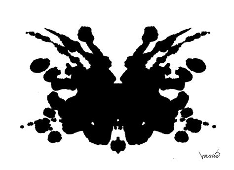 rorschach test the inkblot why flowcasting really isn t subject to