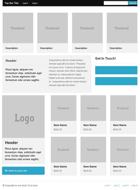zurb html templates creating home page of site in zurb foundation