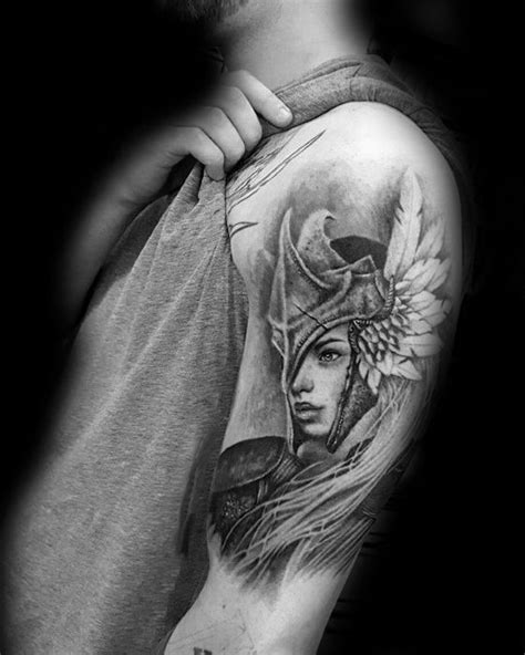60 Valkyrie Tattoo Designs For Men - Norse Mythology Ink