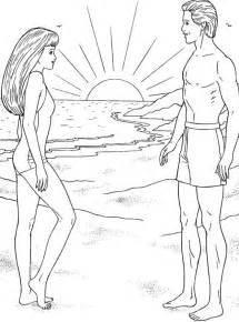 dessin homme femme az coloriage