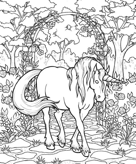 mystical unicorn coloring page mythical horse coloring pages animal coloring pages of