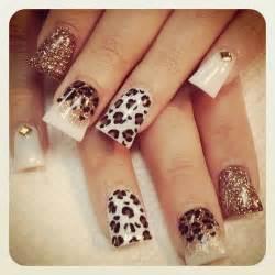 19 leopard nail art print