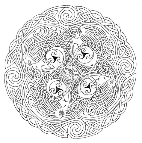 celtic mandala coloring pages free celtic designs artists coloring book embellishing and