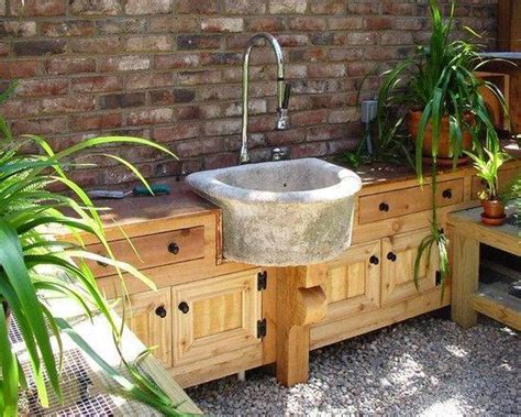 outdoor kitchen with sink 15 most outrageous outdoor kitchen sink station ideas