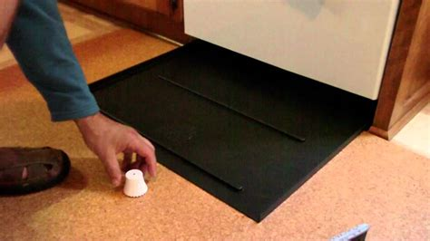 Dishwasher Floor Protector - how to plan and place your dishwasher leak pan