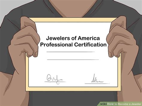 bench jeweler certification 3 ways to become a jeweler wikihow