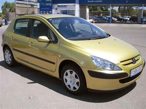 gold peugeot peugeot 307 hdi used car costa blanca spain second