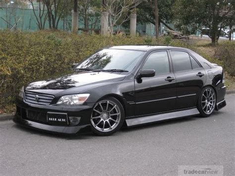 altezza black bn sports drift is300 japan jdm lexus
