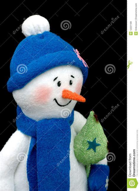 Snowman Handmade - handmade snowman black royalty free stock images