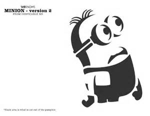 minion pumpkin carving template pumpkin carving templates from frozen and other