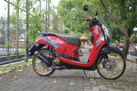 Part Modifikasi Motor by Modifikasi Honda Scoopy Part Import Juragan Seafood