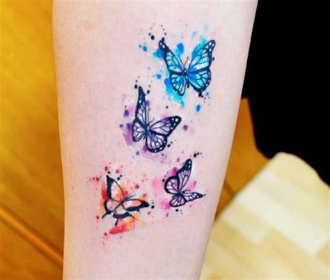 tatuaggi fiori farfalle braccio tatuaggi farfalle 200 foto e idee a cui ispirarsi