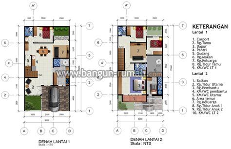 desain rumah ukuran 8x15 1 lantai desain rumah di lahan 8 x 15 m2 brp 804 desain rumah