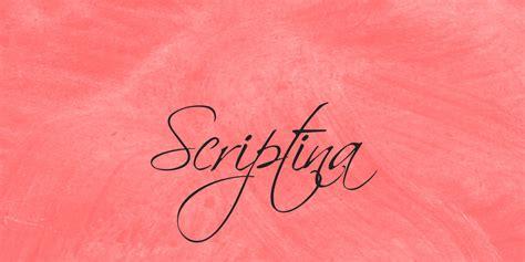scriptina font family 183 1001 fonts