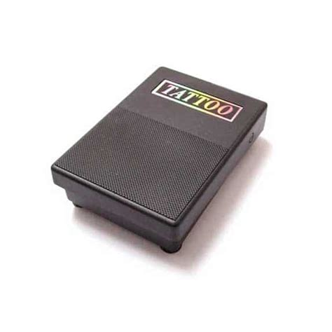 tattoo pedal basic square foot pedal for standard power supplies