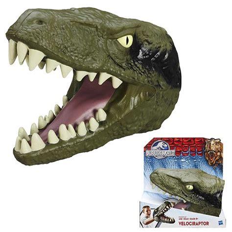 Jurassic World Velociraptor jurassic world chomping velociraptor dinosaur