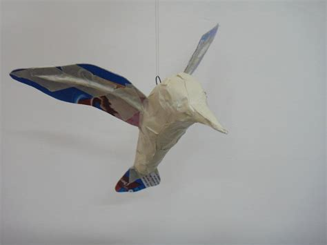 How To Make A Hummingbird Out Of Paper - 133 best images about paper mache on