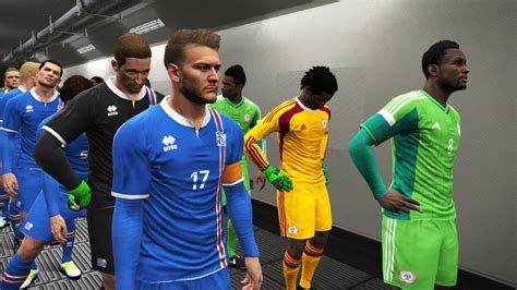 Nigeria Vs Iceland Iceland Vs Nigeria Match Pes Gameplay Pc