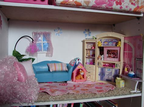 barbie home decoration diy barbie house from a shelf a girl and a glue gun