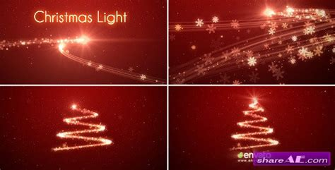 Christmas Light After Effects Project Videohive 187 Free After Effects Templates After Ae Effects Templates