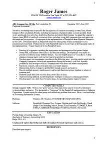 Resume Templates Business by Cv Resume Resume Format Resume Sles Circum