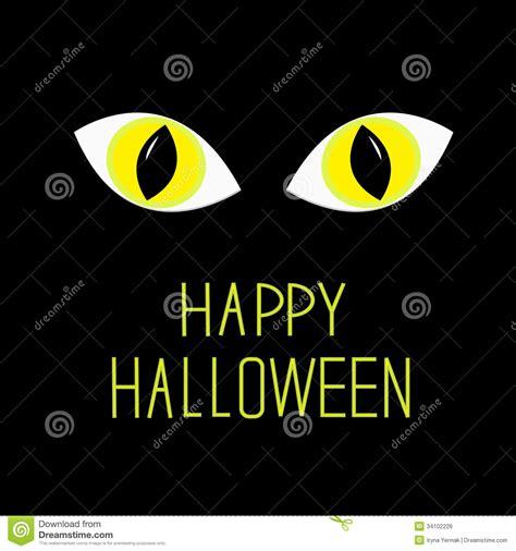 imagenes de ojos halloween kot 243 w oczy w ciemnej nocy szczęśliwa halloween karta