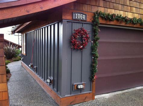 metal siding houses metal siding and cedar shakes home exterior pinterest metal siding cedar shakes and metals