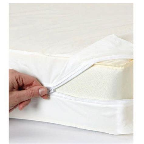 bed bug insurance vinyl zippered hypoallergenic bed bug blockade mattress