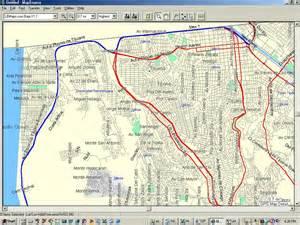 map of tijuana baja california playas de tijuana map images