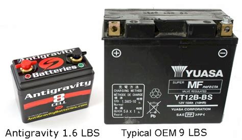 Motorrad Batterie Gewicht by Ultra Light Weight Lithium Motorcycle Batteries Yamaha
