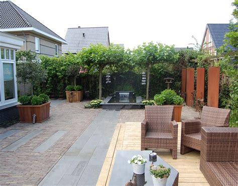 Voorbeelden Tuinen voorbeelden tuinen loungeset 2017
