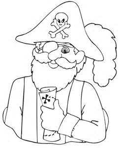 pirate coloring page free coloring pages