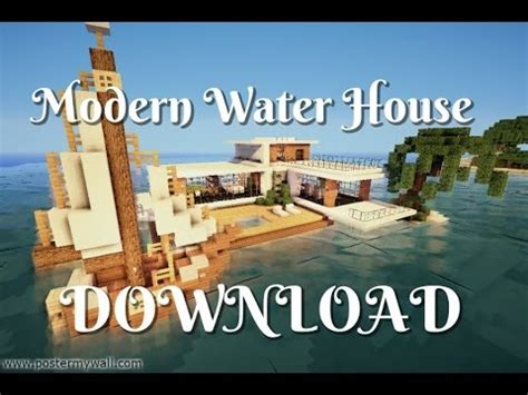 water stopped working in house minecraft lets build modern water house part 2 download youtube