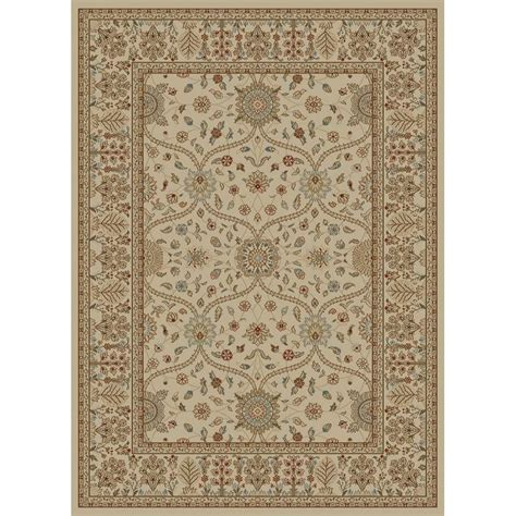 Japanese Area Rug Shop Style Selections Hangsinger Ivory Rectangular Indoor Woven Area Rug Common 5 X 8