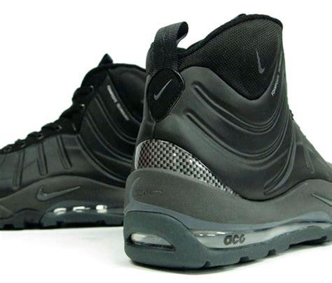 nike acg air max bakin posite boot black new images