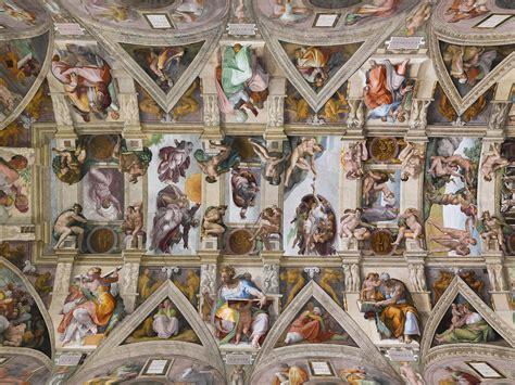 Ceiling Of The Sistine Chapel By Michelangelo by Roarshock Net Sistine Chapel