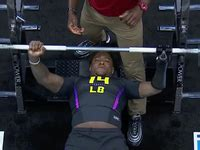 20 rep bench press shaquem griffin posts 20 rep bench press using prosthetic