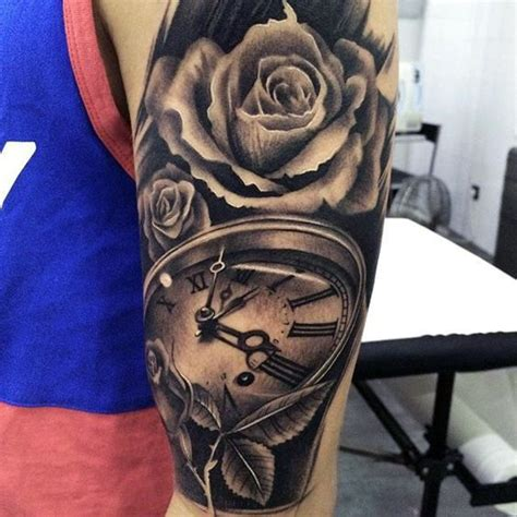 rose tattoos for men on arm 25 best ideas about arm tattoos on