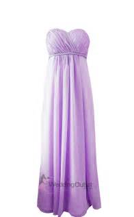 lilac purple strapless bridesmaid dress style d101