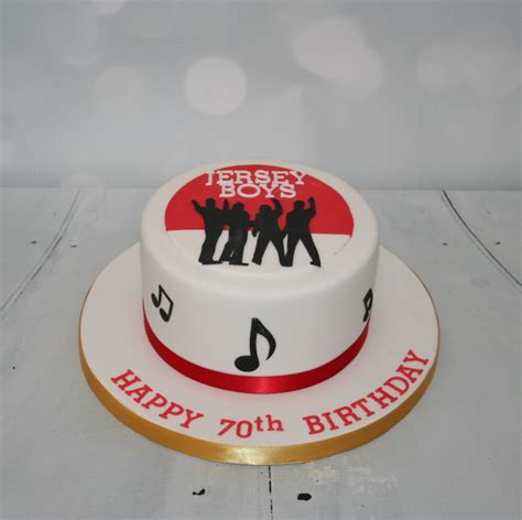 themed birthday cakes nj jersey boys themed cake