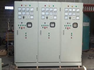 Panel Genset Manual Panel Panel Electrical Adih Suwardi