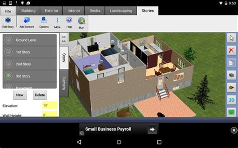 home design 3d app for android dreamplan home design free android apps auf google play