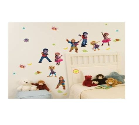 character wall stickers disney childrens bedroom self adhesive wall stickers character stikarounds ebay