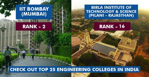 Top 25 Mba Colleges In India 2017 by Check Out The Top 25 Best Engineering Colleges In India