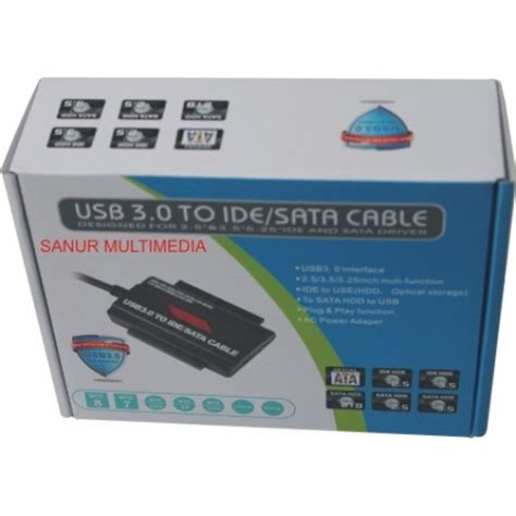 Kabel Data Sata New usb to ide doble sata r driver iii 3 0 new